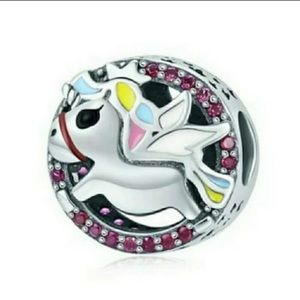 Jewelry - Pandora Compatible Charm Unicorn